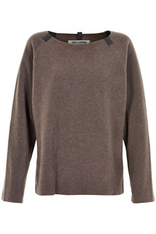 HENRIETTE STEFFENSEN Copenhagen 1290 SWEATER BROWN