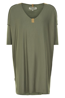 HENRIETTE STEFFENSEN Copenhagen 8010G DRESS DUSTY GREEN