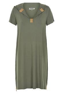 HENRIETTE STEFFENSEN Copenhagen 8009G DRESS DUSTY GREEN