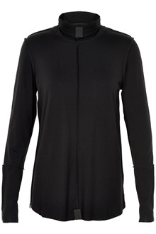HENRIETTE STEFFENSEN Copenhagen 6016 HIGH NECK BLOUSE BLACK