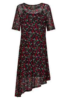 ICHI IXROSE DRESS 20109106-10001