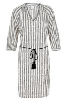 ICHI MOROCCO PRINT DRESS 20104058