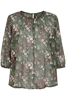 ICHI IXDOLLY MS2 BLOUSE 20109351-13530