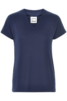 KAREN BY SIMONSEN DANDY V-NECK TEE 10101101 B