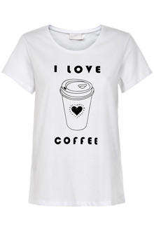 KAFFE COFFEE T-SHIRT 10502001
