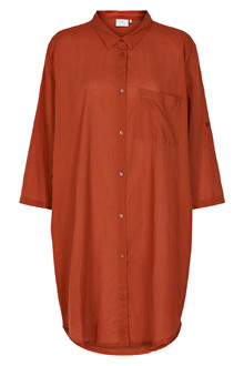 KAFFE JENSINE 3/4 SHIRT DRESS 10551226 P