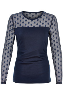 KAFFE INDIA DOT BLOUSE 10501030 M