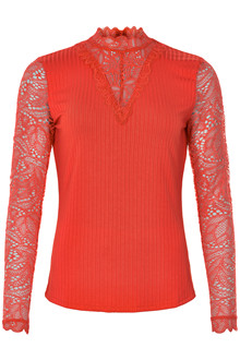 KAFFE MARTHA LACE BLOUSE 10502724 H