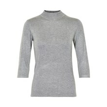 KAFFE ASTRID 3/4 TURTLENECK 500125 G