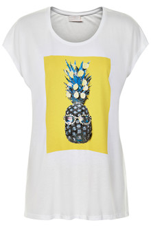 KAFFE PINEAPPLE T-SHIRT 10502232 E