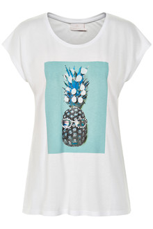 KAFFE PINEAPPLE T-SHIRT 10502232 A