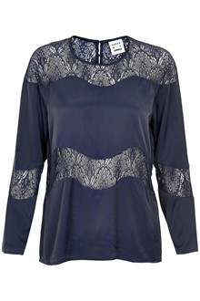 KAREN BY SIMONSEN LANE BLOUSE 10100588 OS
