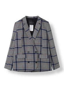 STELLA NOVA MENS CHECK BLAZER MC-5528