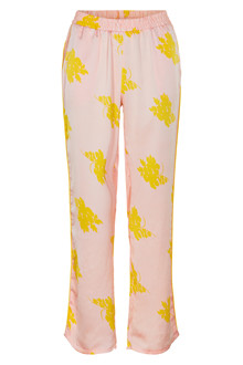 NEO NOIR LINA BIG FLOWER PANTS 100054
