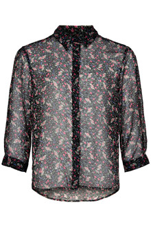 SOAKED IN LUXURY CARMEN SHIRT 30404246
