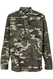 SOAKED IN LUXURY TRADY CAMO SKJORTE 30404083