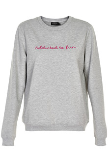 SOAKED IN LUXURY FUN SWEATSHIRT