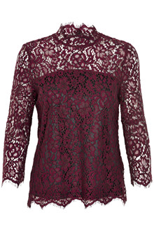 SOAKED IN LUXURY ASTA LACE BLUSE