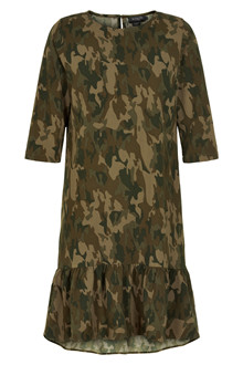 SOAKED IN LUXURY LAMO CAMO DRESS 30404078