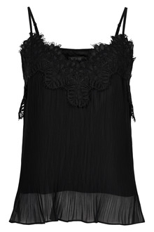 SOAKED IN LUXURY OFFRED PLISSÉ TOP 30404208