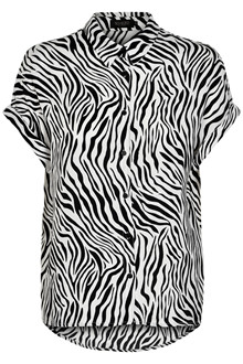 SOAKED IN LUXURY OLINE ZEBRA TOP 30404066