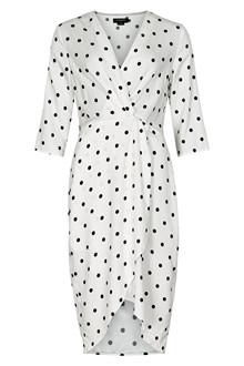 SOAKED IN LUXURY SXKRISTY DRESS 30404504