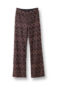 STELLA NOVA WILD KNITTED SUITING PANTS WK81-5386