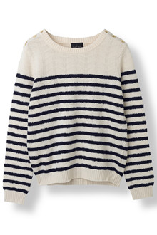 STELLA NOVA COTTON/WOOL KNIT WO-3539 V