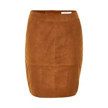 GESTUZ CHAR SUEDE MINI SKIRT 10900407