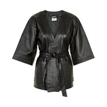 KAREN BY SIMONSEN JERRY LEATHER KIMONO 10100324