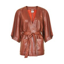 KAREN BY SIMONSEN JERRY LEATHER KIMONO 10100324F