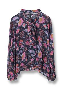 STELLA NOVA CHIFFON FLOWERS BLOUSE CH81-4322