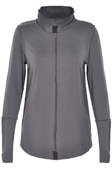HENRIETTE STEFFENSEN Copenhagen 6016 HIGH NECK BLOUSE GREY