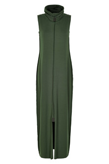 HENRIETTE STEFFENSEN Copenhagen 6055 DRESS LONG GREEN