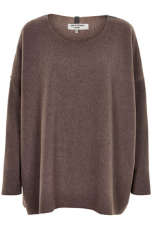 HENRIETTE STEFFENSEN Copenhagen 1135 SWEATER BROWN