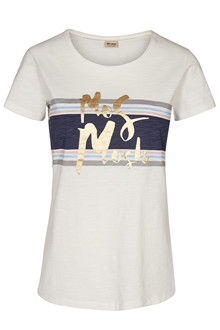 MOS MOSH JENNER FOIL TEE 126370