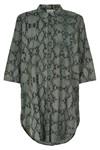 KAFFE KAMARIANNE SNAKE SHIRT DRESS 10551207