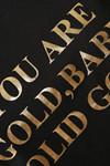 KAFFE SOLID GOLD T-SHIRT 10502761