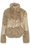 CREAM CASSIE FUR JACKET 10603559
