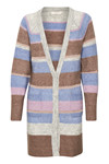 CREAM ZOEY STRIPE CARDIGAN 10604196