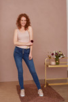 CREAM MARY JEANS - BAIILY FIT 10604408