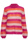 GESTUZ HOLLY STRIPE PULLOVER M