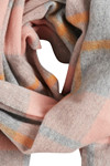 ICHI A VIVA CHECK SCARF 20107080-17669