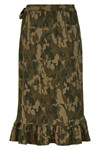 SOAKED IN LUXURY LAMO CAMO SKIRT 30404086
