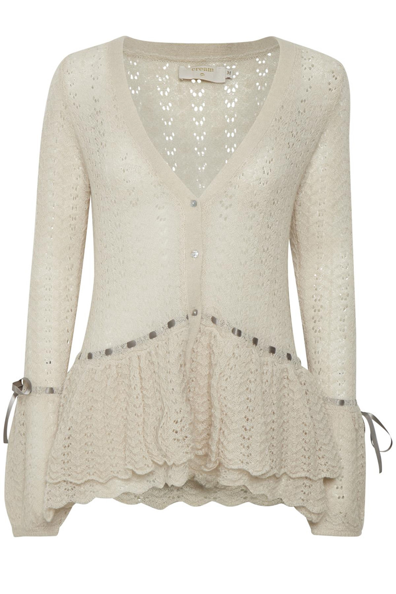Cream cardigans and knits- Buy online