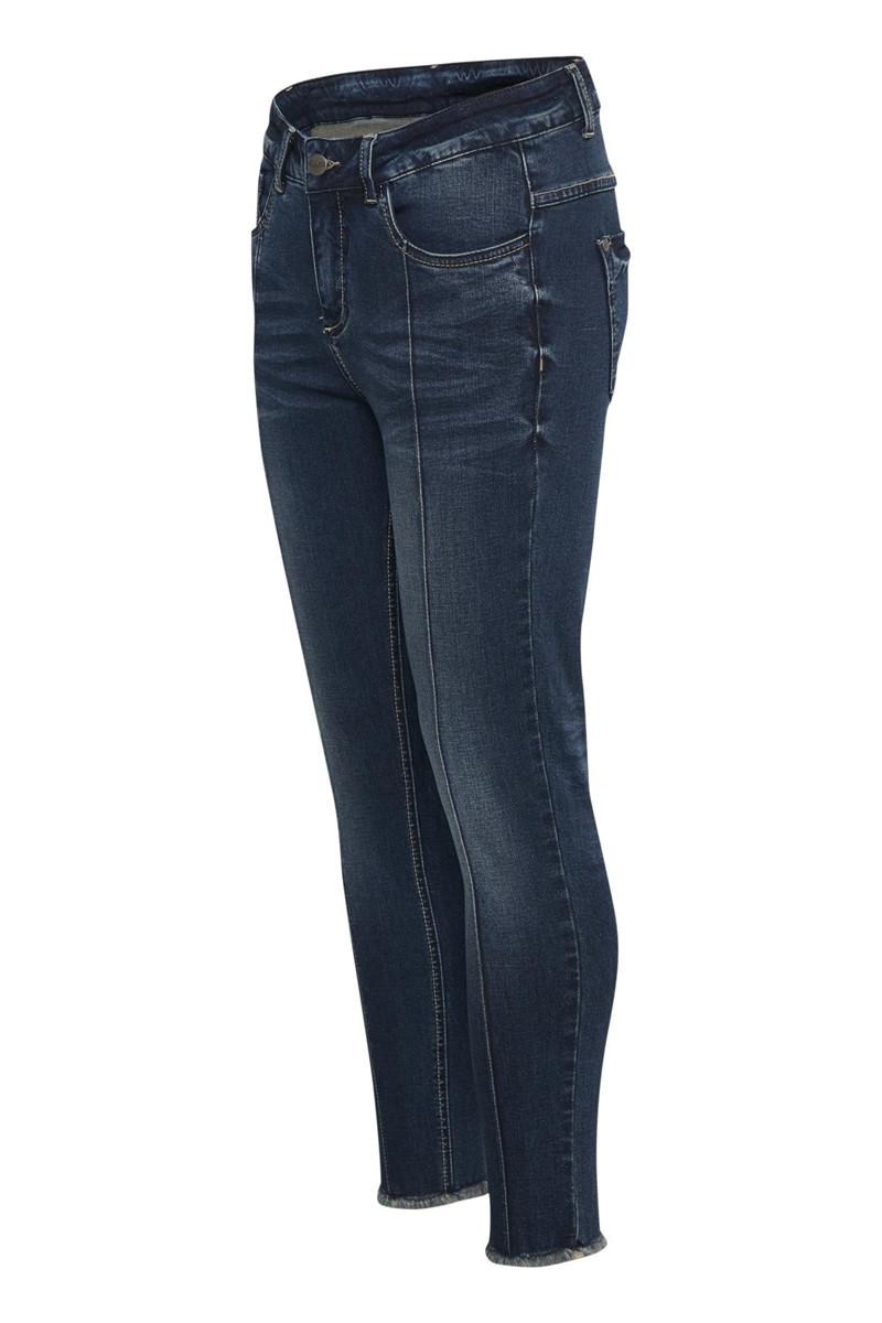denim hunter norma 7 8 high custom jeans 10701434. Black Bedroom Furniture Sets. Home Design Ideas
