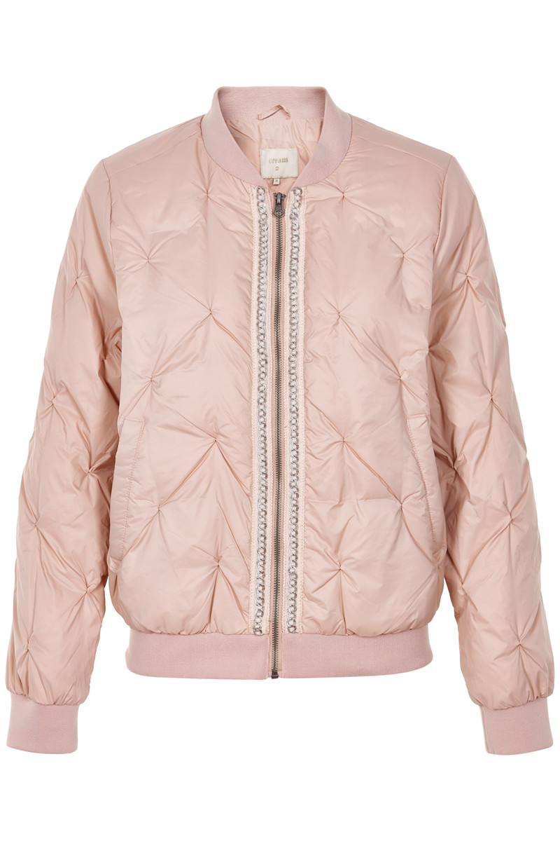 CREAM AVIA BOMBER JACKET 10601495