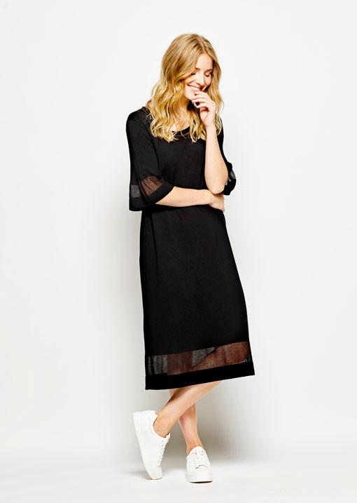 kjole længde under knæet