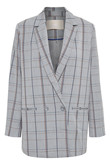 KAREN BY SIMONSEN SYDNEYKB FASHION CHECK BLAZER 10102370