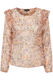 SOAKED IN LUXURY SASELINE BLOUSE 30403253